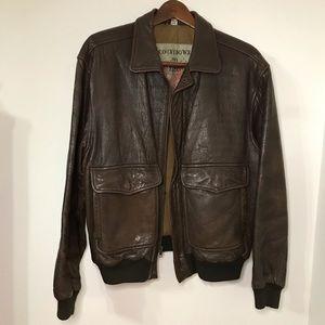 Leather Jacket, Size 42